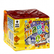 Bateria Magic Box 16 disparos-amarillo